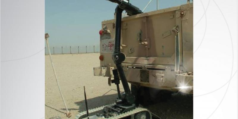 Lightweight EOD and Counter IED UGV