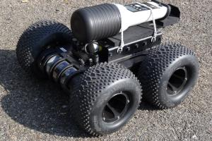 Mini UGV for hazmat incidents