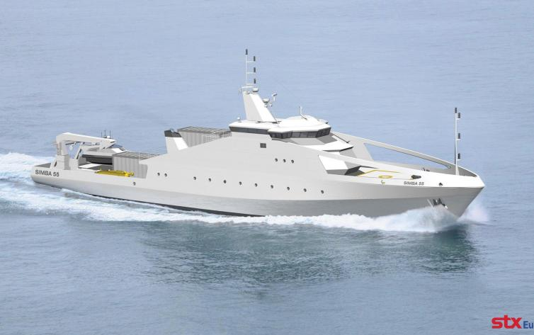 Surveillance Ship for Offshore Protection