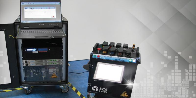 Automated electronic ground testing system for Aerospace applications