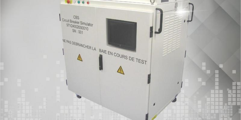 Automated power breaker cabinet  for Aerospace applications