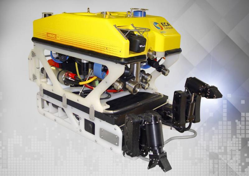 Contract for two 5-function manipulator arms to be mounted on a single lightweight ROV