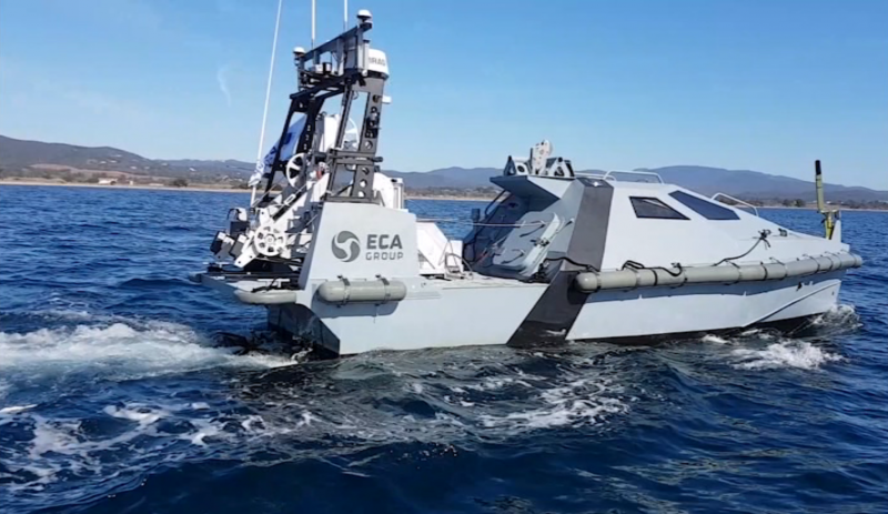 Eca Group Demonstrates Successfully Its Towed Side Scan