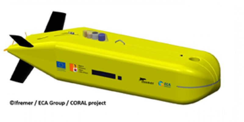 ECA Group chosen by Ifremer to develop an innovative ultra-deep Autonomous Underwater Vehicle (AUV)