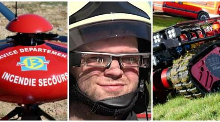 ECA GROUP - NEWS - Couverture var matin - uav solution aginst firefighting