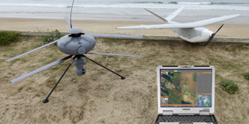 Unmanned Systems Technology : Delair and ECA Group Develop Multi-Drone Ground Station