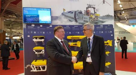 ECA Group - Cooperation Agreement Between ECA and Vestdavit for Launch and Recovery Systems