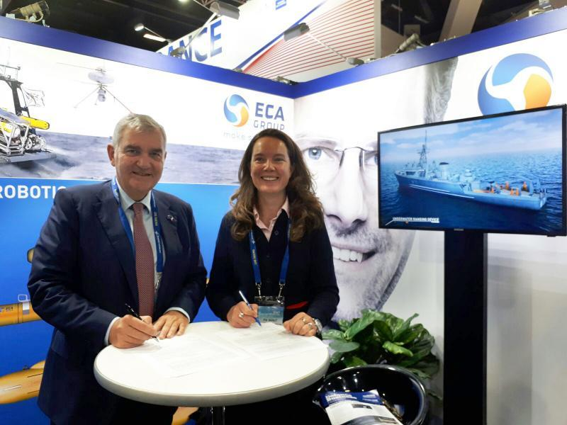 ECA Group and THYCON partner for Future Australian Submarine Program