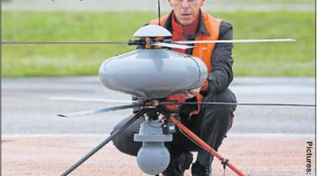ECA GROUP - UAV - IT180 - EUROTUNNEL USE to unveils migrants
