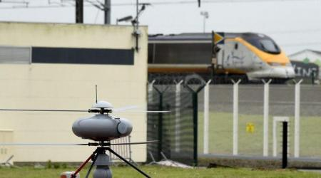 ECA GROUP - UAV IT 180 - EUROTUNNEL SECURITY