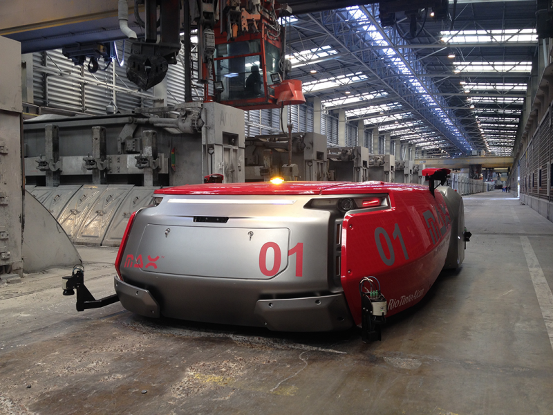 ECA GROUP with RIO TINTO develops delivery industrial robots within European project ECHORD