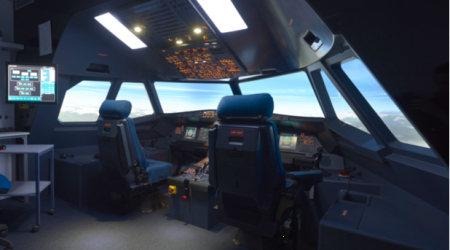 ECA GROUP - TRAINING SIMULATION - Dgac qualification for a320 flight training device