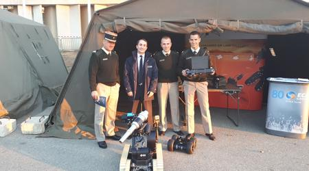 ECA Group presented its Land Robots for Infantry Combat Support