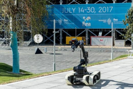 ECA-GROUP-UGV-CAMELEON E-17th world championship security.jpg