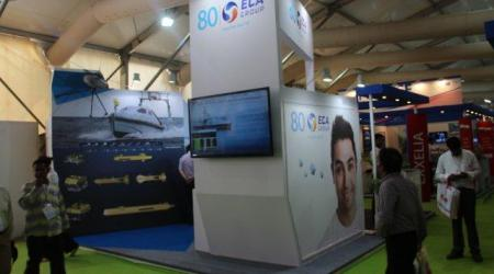 ECA GROUP - EVENT - Defexpo Army recognition-  eca group promotes unmanned solution