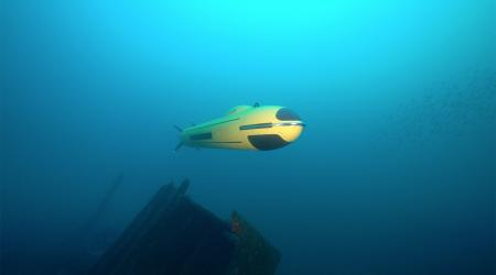 ECA Group - AUV A18-M underwater - 9