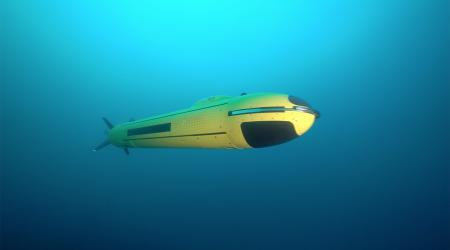 ECA Group - AUV A18-M underwater - 6