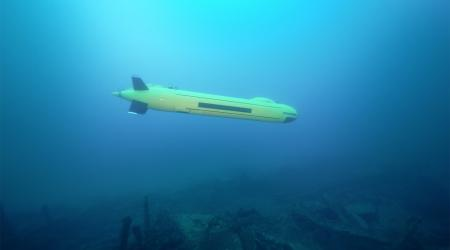 ECA Group - AUV A18-M underwater - 8