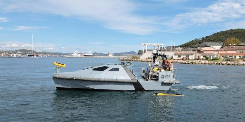Delivery of the first robotic / unmanned mine countermeasures (MCM) systems
