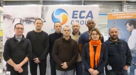 ECA GROUP - NEWS - ECA Group: French Navy officers' training