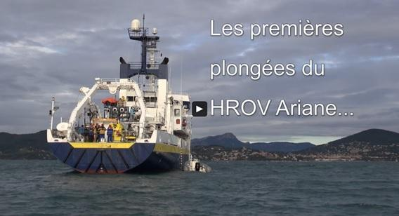 Video H-ROV IFREMER