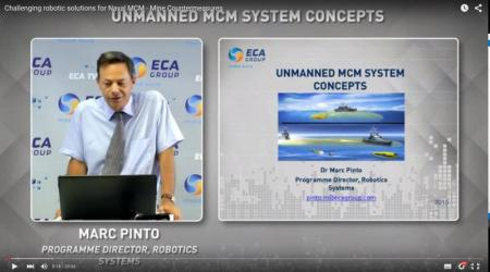 ECA GROUP - MARC PINTO - UNMANNED MCM SYSTEM CONCEPTS