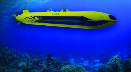 ECA GROUP - AUV - A18 - UNDERWATER