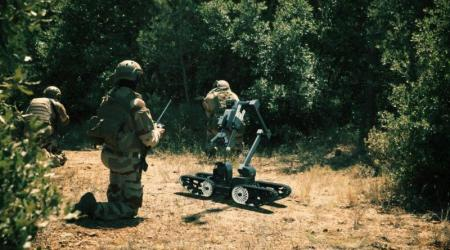ECA GROUP - UGV - IGUANA - Robots for dismounted combat, a real technological challenge