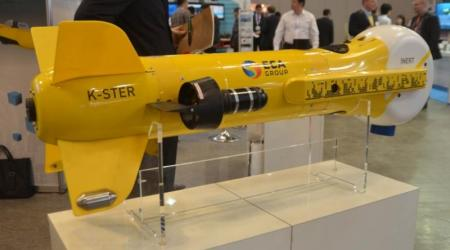 ECA GROUP - BACKGROUND PAGE - K STER MINE KILLER IS DISPLAYED AT MAST ASIA 2015