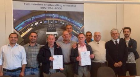 ECA - GROUP - NEWS - SINDEL - Training Course on Mistral 4000 Simulator for Ship to-Ship (STS) transfer operations.jpg
