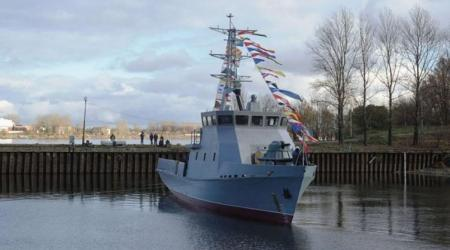 ECA-GROUP-MINE LOCATION AND DESTRUCTION SYSTEM FOR A NEW KAZAKH MINEHUNTER LAUNCHED BY RUSSIA