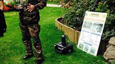 ECA GROUP - UGV - COBRA - MINISTRY - DEFENSE - PARIS