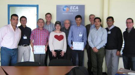 ECA GROUP - CHILEAN'S TRAINING ION ECA GROUP CONVERTERS