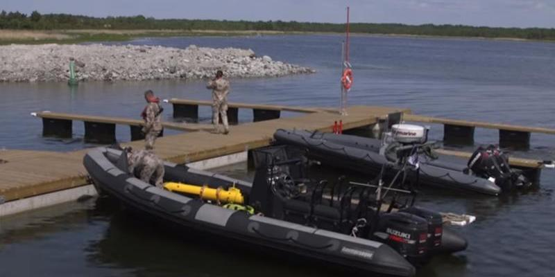 European Navies demonstrate ECA Group naval systems capabilities for mine warfare at Open Spirit 201