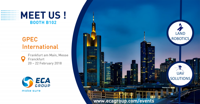 Meet ECA Group at GPEC 2018