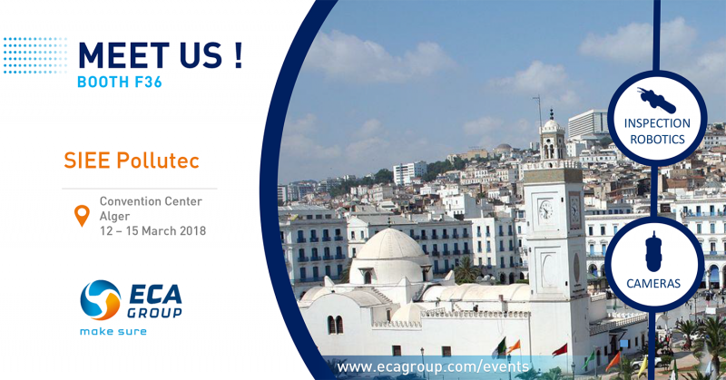 Meet ECA Group at SIEE POLLUTEC 2018