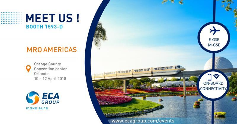 ECA Group at MRO Americas 2018