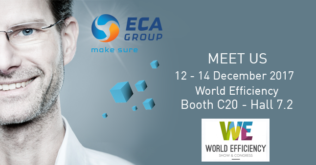 Meet ECA Group at World efficiency 2017