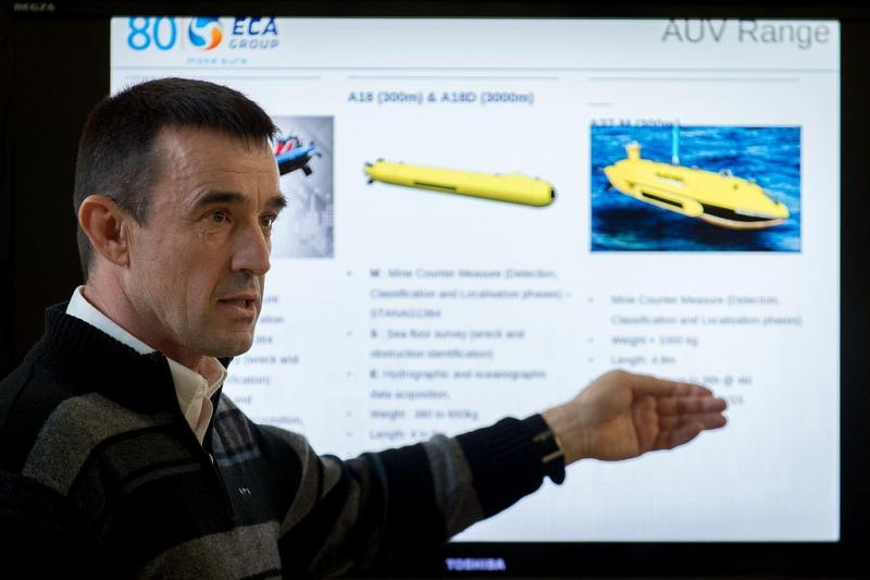 ECA Group AUV - M.Denniel©Marine Nationale