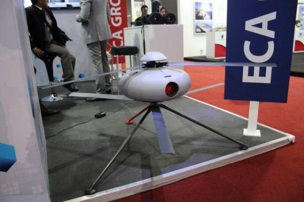 ECA-GROUP- PICTURE- ECA Group is showcasing its mini ISTAR UAV and its mini UGV at Defense & Security exhibition in Bangkok.jpg
