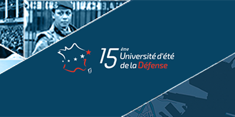 Université d'été de la Défense 2017 | 4-5 September | ECA Group unmanned robotic solutions