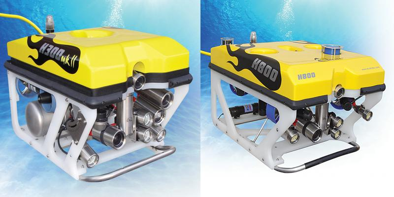 Shallow Water Seabed Survey ROV for Platform Protection