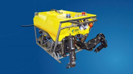 ECA Group - H2000-CT - Remontely Operated Vehicle