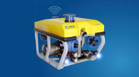 ECA Group - H300V PS - Remotely Operated Vehicle