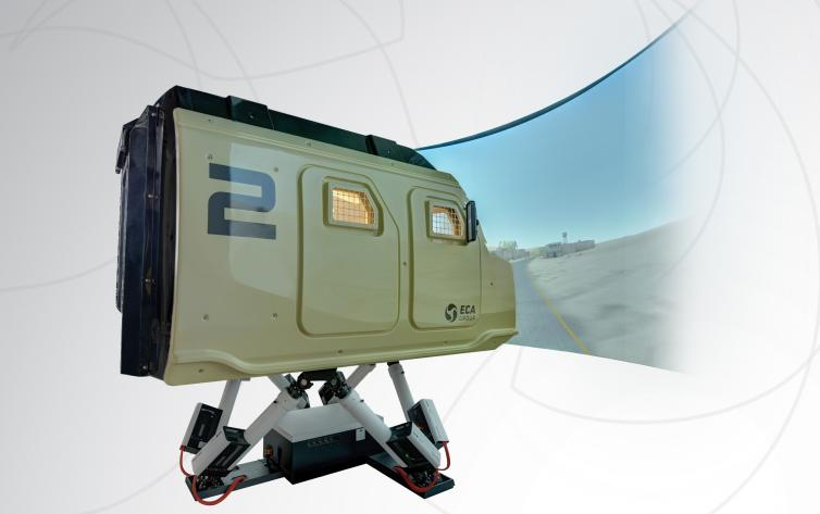 ECA Group Military Simulator