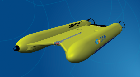 A18-TD / AUV / Autonomous Underwater Vehicle
