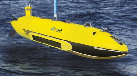 ECA Group - AUV A27-E deployment - 3