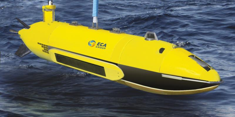 ECA Group demonstrates capabilities of its AUV A27-M for long endurance Mine Counter Measure Operati