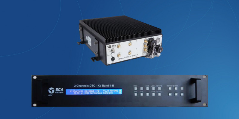 TDC / Tracking Down-converter for Satellite Ground Station Equipment