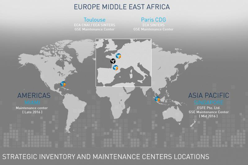 Strategic Inventory and Maintenance Centers Locations